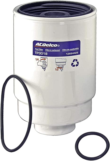 fuel filters gm diesel 01 13 amazon com acdelco tp3018 professional fuel filter with seals  acdelco tp3018 professional fuel filter