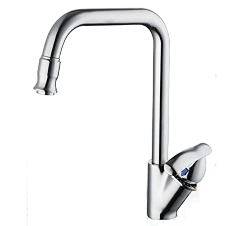 Grifo HAODAMAI Faucet Copper Hot and Cold Single Hole 360 Degree ...