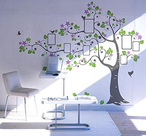 Big Photo Tree Pop Decors Removable Vinyl Art Wall Decals Mural