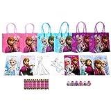 Disney Frozen Party Favor Set Style B - 6 Packs (42 Pcs)