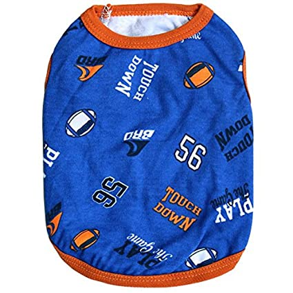 Pets Corner Market Soft and Comfortable Pet Dog Puppy Sporty Clothes Cotton Vest Shirt Warm Clothes