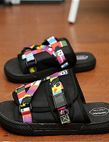 ShangYi Herren Sandaletten Herrenschuhe - Lässig - Sandalen - Kunstleder - Mehrfarbig Multi Color