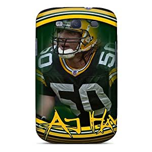 New Arrival Cover Case With Nice Design For Galaxy S3- Green Bay Packers