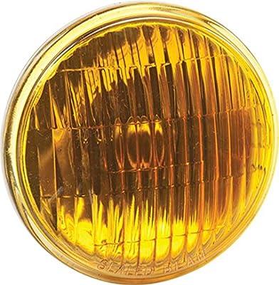New Sylvania 4412-a Amber 12 Volt Par46 Sealed Beam Headlight Bulb Fits LH-23065