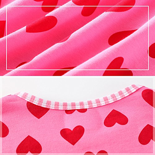 Years Toddler Dress VIKITA Flower 8 Girl Baby Girls MS0320 Dresses for 2 Navy Short Cotton Summer Sleeve Zdd4nqtwxC