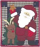 Rachel's Of Greenfield Santa Quilt Kit-13''X15''