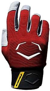EvoShield Prostyle Batting Gloves, Red, Small