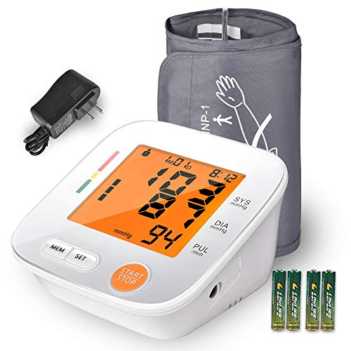 Blood Pressure Monitor Upper Arm, AlphagoMed Automatic