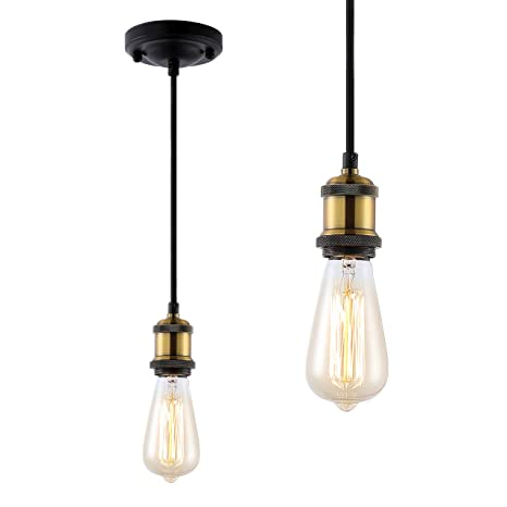 Amazon.com: ZOOSSI - Kit de luces colgantes para casa de ...