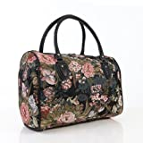 Ladies-travel-bagweekend-baggym-bagcabin-approved-hand-luggage-Peony-Flower