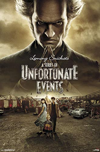 Trends International Series of Unfortunate Events-Season 2 One Sheet Mount Bundle Wall Poster 22.375