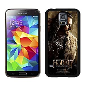 Special Custom Samsung Galaxy S5 Case The Hobbit The Desolation of Smaug Thorin Oakenshield Black Personalized Picture Samsung Galaxy S5 i9600 Phone Case