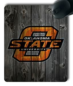 Oklahoma State Cowboys on Wood Rectangle Mouse Pad by eeMuse