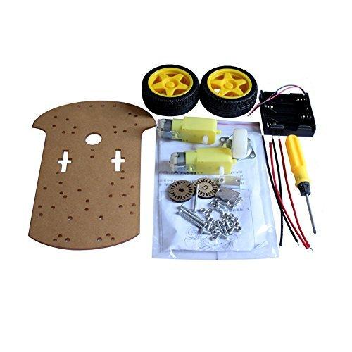 Kit de chasis inteligente Robot Car velocidad Encoder baterÃa Box para Arduino