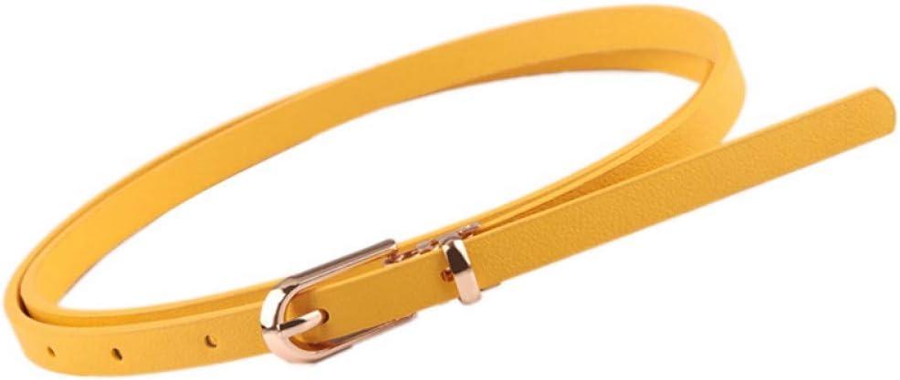 DYCHUN Cinturón Mujer Mujer Cinturones Mujer Niña Colores del ...
