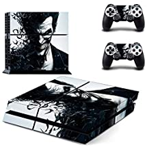 Adventure Games - PS4 ORIGINAL - Joker - Playstation 4 Vinyl Console Skin Decal Sticker + 2 Controller Skins Set