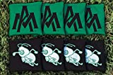 Victory Tailgate NCAA Regulation Cornhole Game Bag Set (8 Bags Included, Corn-Filled) - Arkansas Monticello Boll Weevils & Cotton Blossoms