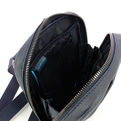 Piquadro Umhängetasche, schwarz (schwarz) - CA3084S86/N Blau