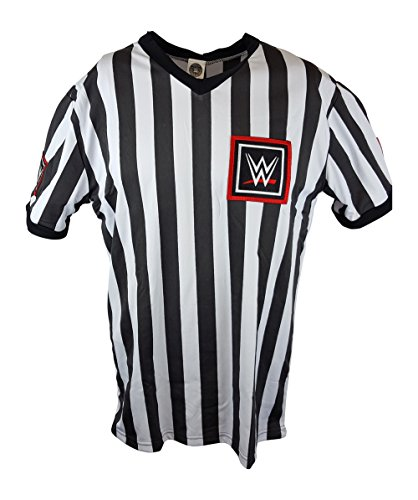 WWE New Logo 2015 Referee Shirt New Adult Sizes-L by Hybrid Tees