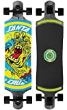 "Santa Cruz Skateboards Rob Hand Foot Stop Black Drop Thru Cruzer Skateboard, 10"" x 40"", Multicolor"