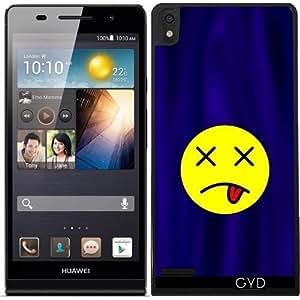 Funda para Huawei Ascend P6 - Smiley Ko by hera56