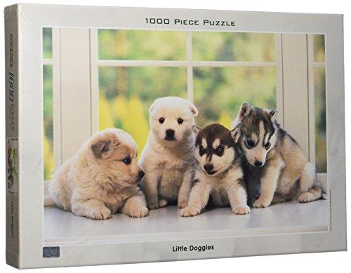 TOMAX Little Doggies 1000 Piece Jigsaw Puzzle