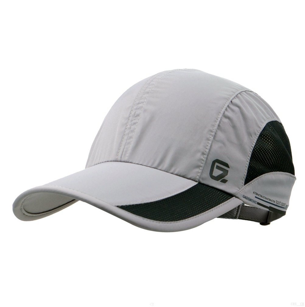 c41de424222c0 GADIEMKENSD Unstructured Baseball Cap Quick Dry Sports Hat Lightweight  Breathable …