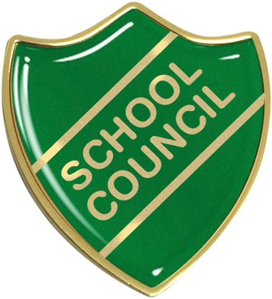 Resin Domed Choice of Colour Bar School Council Badge Gel Domed