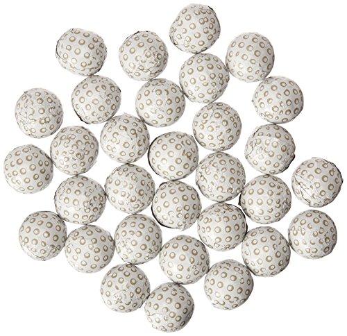 Golf Balls Premium Solid Milk Chocolate (1 Lb - 80 Pcs) (Chocolate Ball Candy)