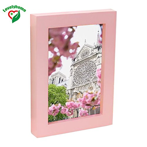 Pink Frames 8x10 Inch, Photo Picture Frame High Grade Wooden Quailty, Display Picture Frames, Home and Office decor