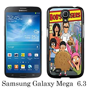 Samsung Galaxy Mega 6.3 I9205 Case ,Hot Sale And Popular Designed Samsung Galaxy Mega 6.3 I9205 Case With Bob's Burgers 8 Black Hight Quality Cover