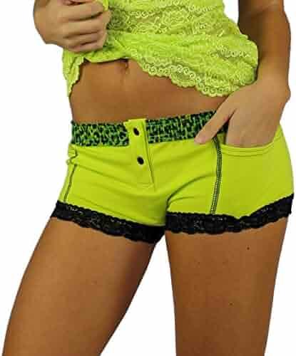 43f291695dd1 Foxers Women's Boxer Brief Underwear with Pockets Cotton Boy Shorts Panties