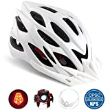 Best Adult Bike Helmets - Basecamp Specialized Bike Helmet with Safety Light,Adjustable Cycling Review