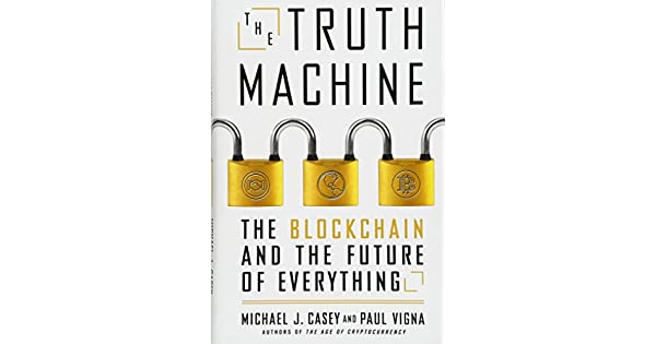 The truth machine the blockchain and the future of everything the truth machine the blockchain and the future of everything livros na amazon brasil 9781250114570 fandeluxe Gallery