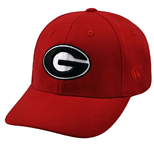 Top of the World NCAA-SEC Conference-Premium Collection-OneFit-Memory Fit- Size: L/XL-Georgia Bulldogs (Georgia Bulldog Hats Fitted Men compare prices)