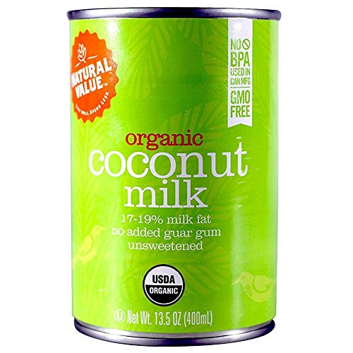 (Natural Value Organic Coconut Milk, 13.5-Ounce Cans (Pack of 6))