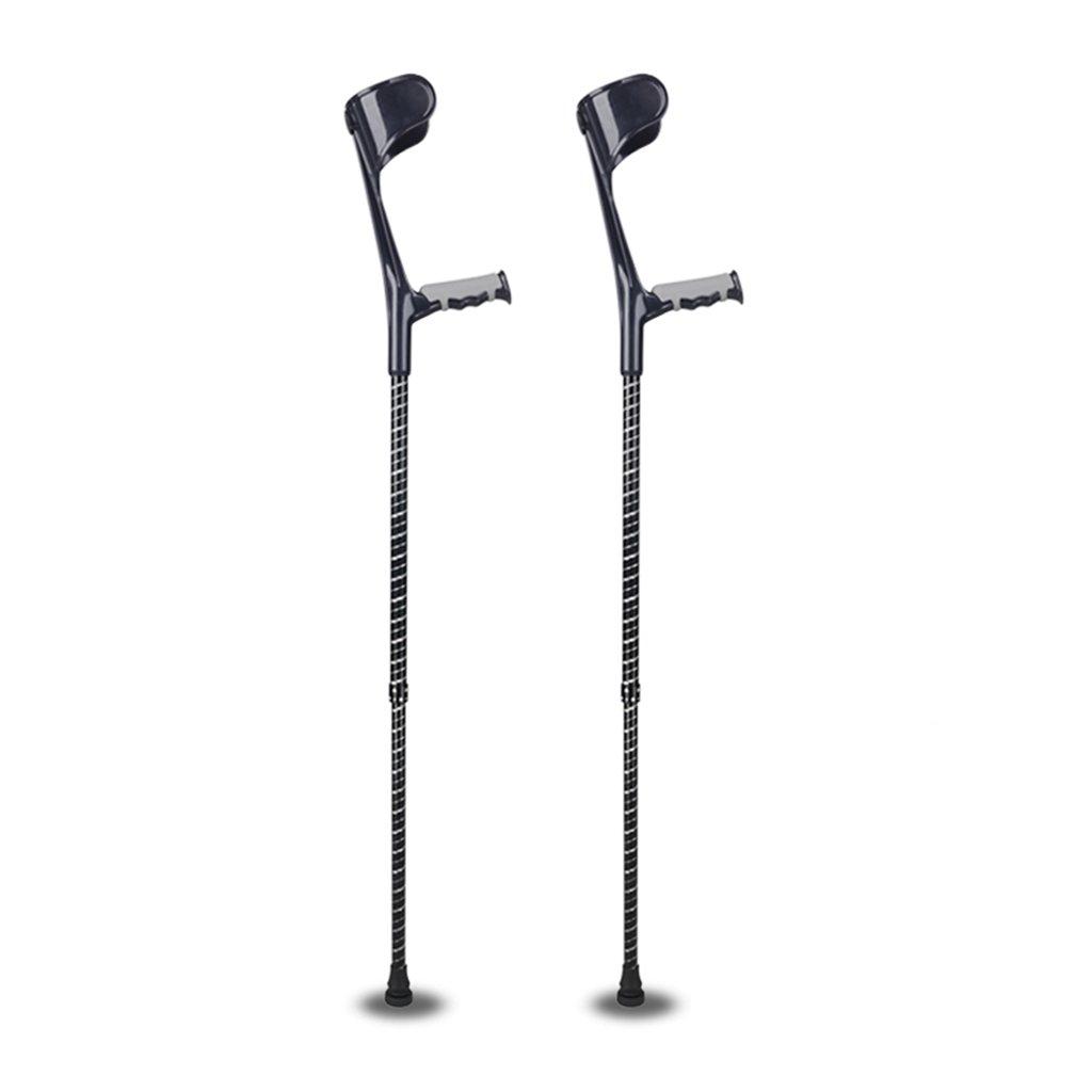 XUEPING 障害シングル/ダブル杖の高さ調節可能な2色140 cm190 : cmの高さ (色 XUEPING : Black double double) Black double B078NY5R33, ナンポロチョウ:5d9b1a61 --- ijpba.info