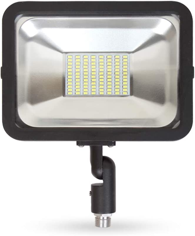 LLT LED COMPACT Floodlight with Arm SMD Outdoor Landscape Security Waterproof...