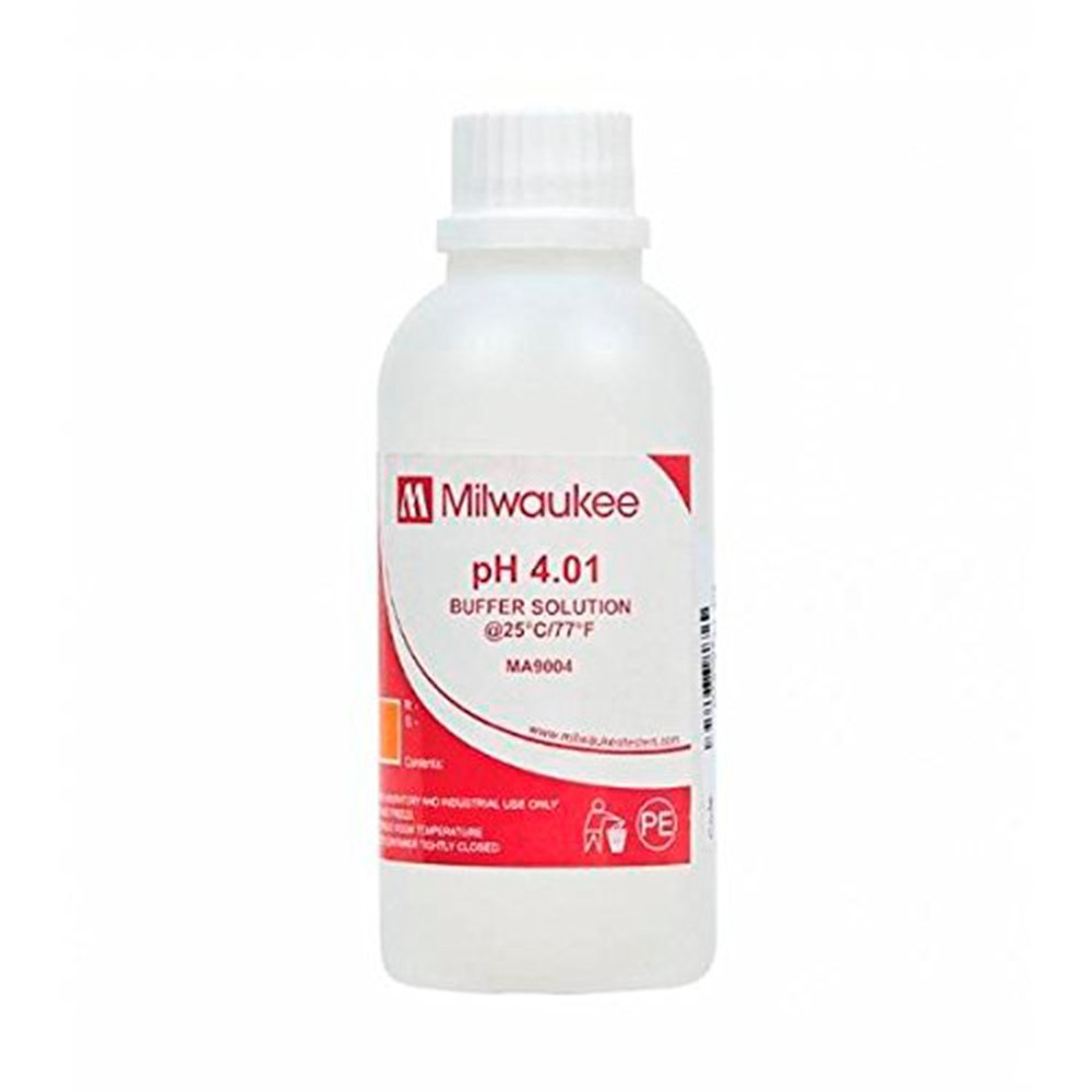 Milwaukee Solution d'é talonnage pH 4.01 230ml (MA9004)