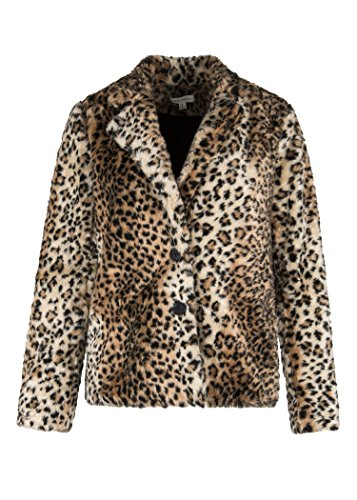 Womens Leopard Cheetah Plush Faux Fur Coat Jacket – for sale  Delivered anywhere in USA