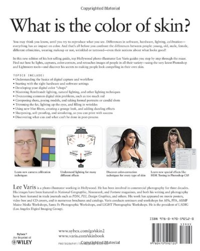 Skin: The Complete Guide to Digitally Lighting, Photographing, and Retouching Faces and Bodies