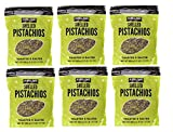 Kirkland Signature Shelled Pistachios Roasted & Salted, 144 Ounce (Pack of 6, 24 OZ Each Pack)