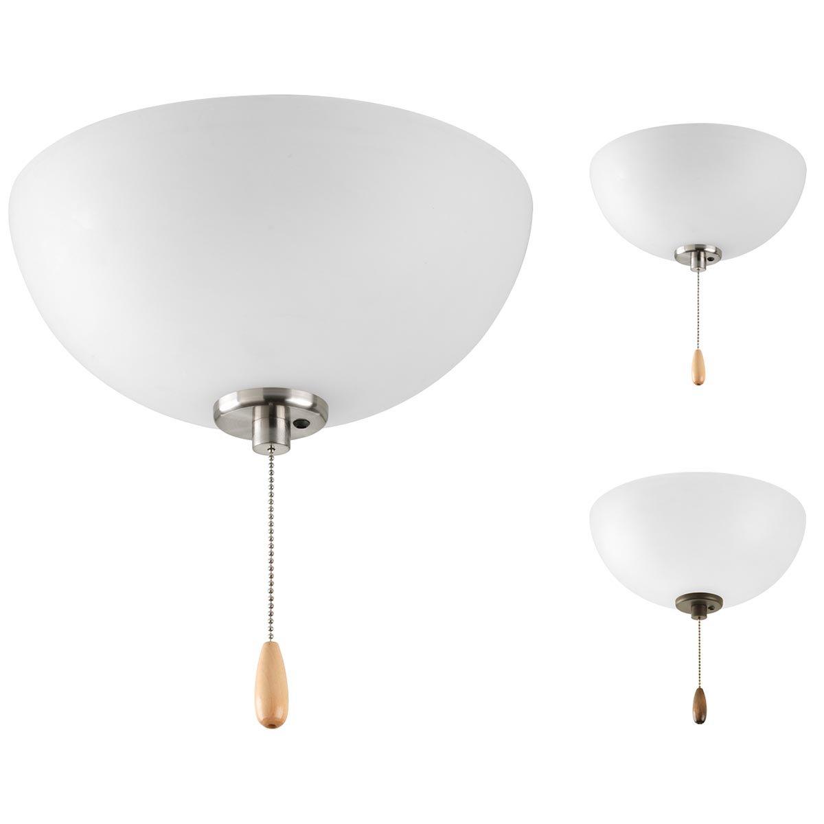 Progress Lighting P2650-01WB Fan Light Kit, Unfinished