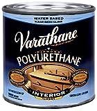 Rust-Oleum Varathane 200161H 1/2-Pint Interior Crystal Clear Water-Based Polyurethane, Water-Based Semi-Gloss Finish
