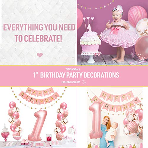 First Birthday Decorations Set For Girl