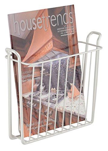 MDesign Zeitungshalter Für Die Wand U2013 Schöner Zeitschriftensammler Aus  Metall Für Badezimmer, Küche Oder Büro