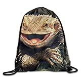 Bearded Dragon Lizards Gym Sac