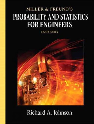 Download Miller & Freund's Probability and Statistics for Engineers (8th Edition) PDF