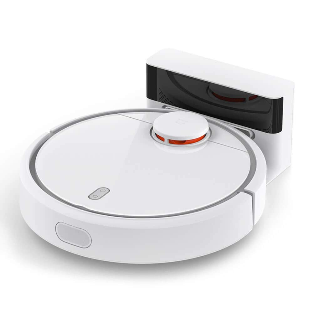 Amazon.com: Exteren Xiaomi Mi Robot Vacuum Cleaner Robot with Precise Distance Sensor System Powerful Suction LDS Path Planning (White): Sports & Outdoors