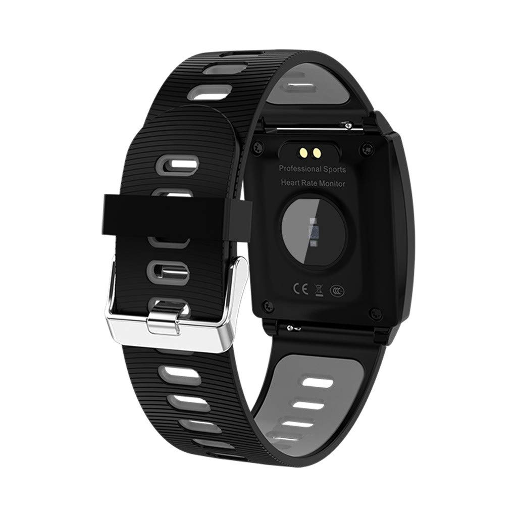 Amazon.com: Yellsong Smart Watch,AK18 Heart Rate Blood ...